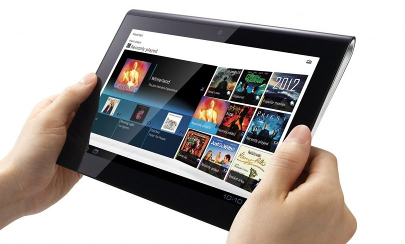 Sony Tablet S test