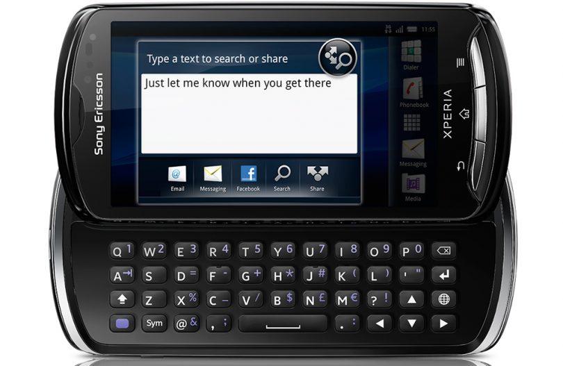 Sony Ericsson Xperia Pro test