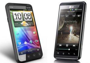 Duel i den tredje dimension: HTC Evo 3D vs. LG Optimus 3D