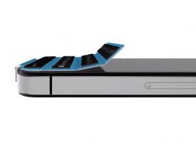 Magnetisk iPhone tastatur