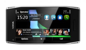 Nokia X7 test