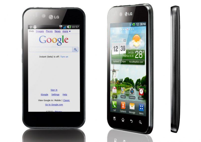 LG Optimus Black test