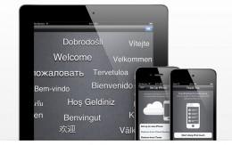 iCloud - trådløs synkronisering med Skyen