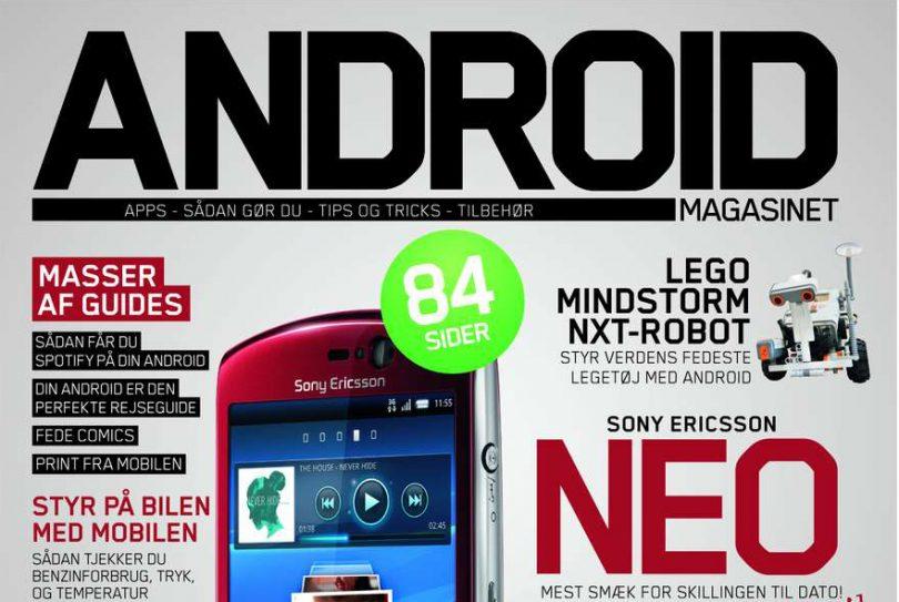 Nyt Android Magasinet i butikkerne nu