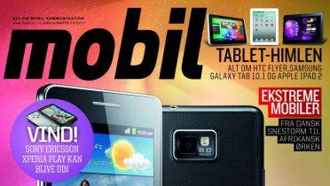 Nyt nummer af Mobil i butikkerne nu – alt om Samsung Galaxy S II