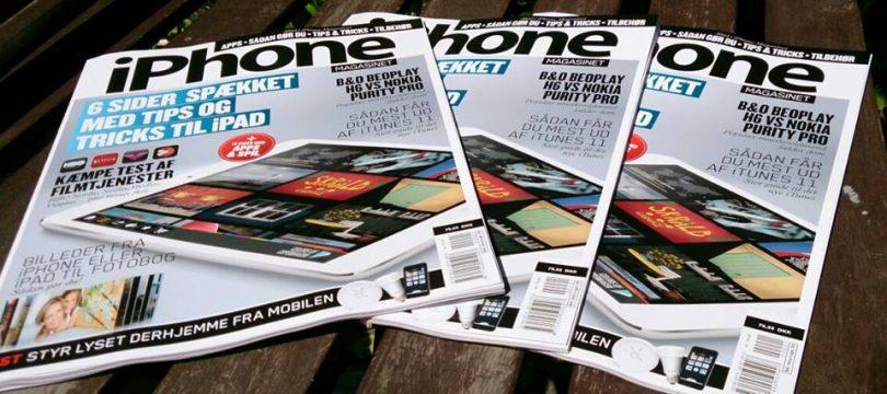 iPhone Magasinet #1 2013 i butikkerne landet over