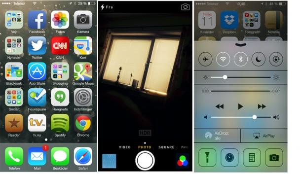 Vi har prøvet iOS 7