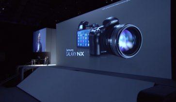 Samsung Galaxy NX Android-kamera: Se pris og lancering
