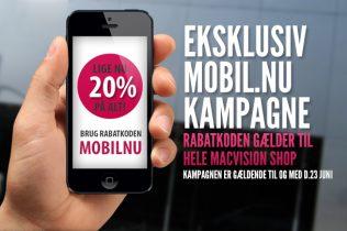 To dage tilbage: Dansk webshop giver 20 procent rabat på Apple-udstyr