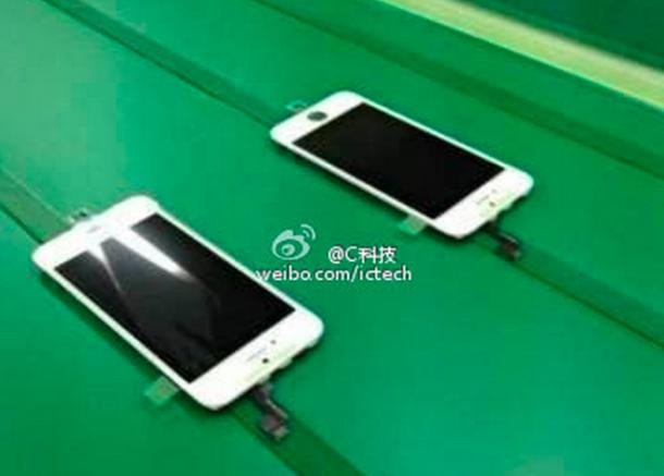 Billede: Her er iPhone 5S front og skærm på samlebånd