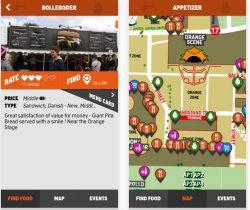 Roskilde Festival opdaterer mad-app til iPhone og Android