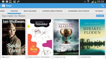 Test: Google Play Bøger