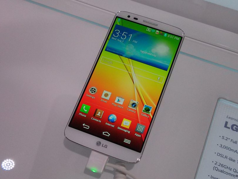 Galleri: Live-billeder af den nye LG G2
