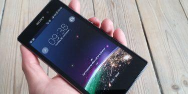 Sony Xperia Z1 test og pris: Tæt på komplet