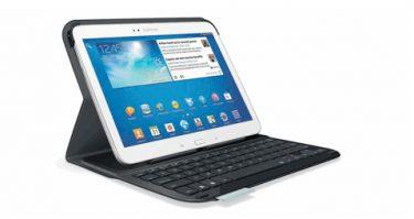 Logitech klar med cover med og uden tastatur til Samsung Galaxy Tab 3