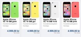 iphone-5c-pris