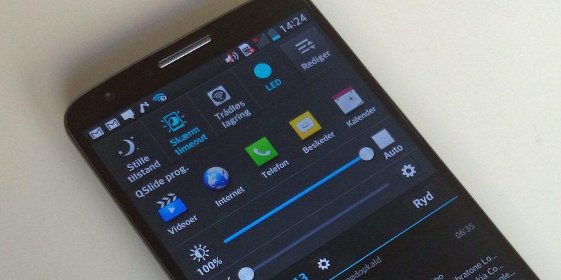 LG sætter snart smartphone med bøjelig skærm til salg