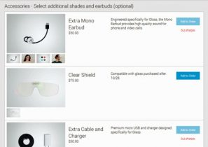Svinedyrt tilbehør til Google Glass