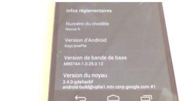 Video: Er det her Nexus 5?