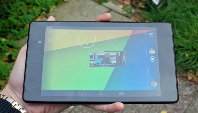 Nexus 7 i stor benchmark test