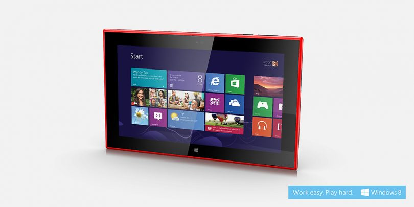 Nokia Lumia 2520 – Windows RT tablet