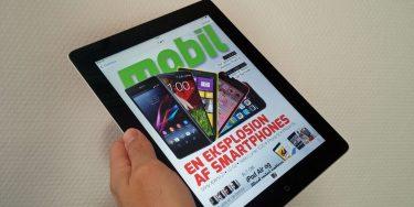 Dugfrisk nummer af Mobil til iPad og Android-tablets ude nu – og det er gratis!