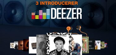 3 lancerer musikstreaming med Deezer