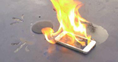 iPhone 5s får ild- og hammertesten
