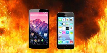 Duel: Nexus 5 vs iPhone 5s