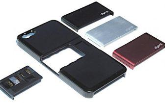 Case+ giver plads til to sim-kort i iPhone 5