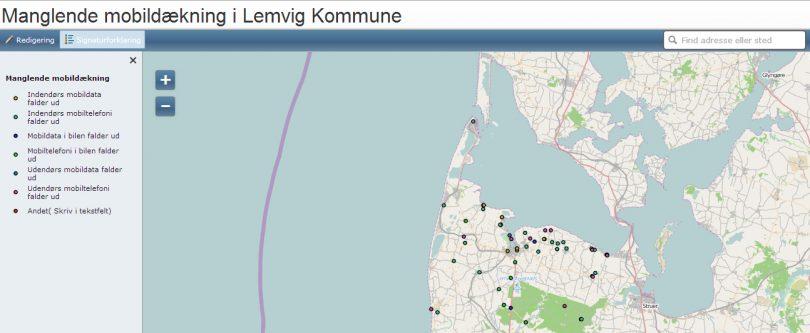 Sådan vil Lemvig Kommune fjerne mobilhullerne