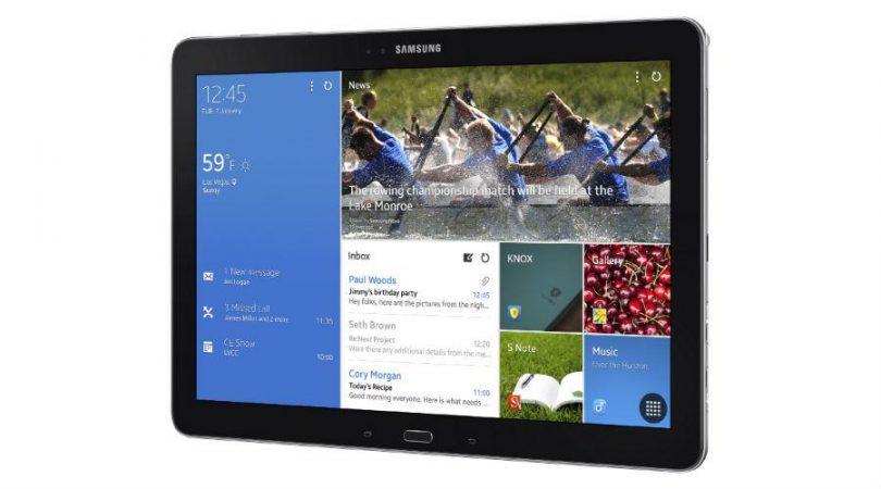 Samsung Galaxy NotePRO i billeder