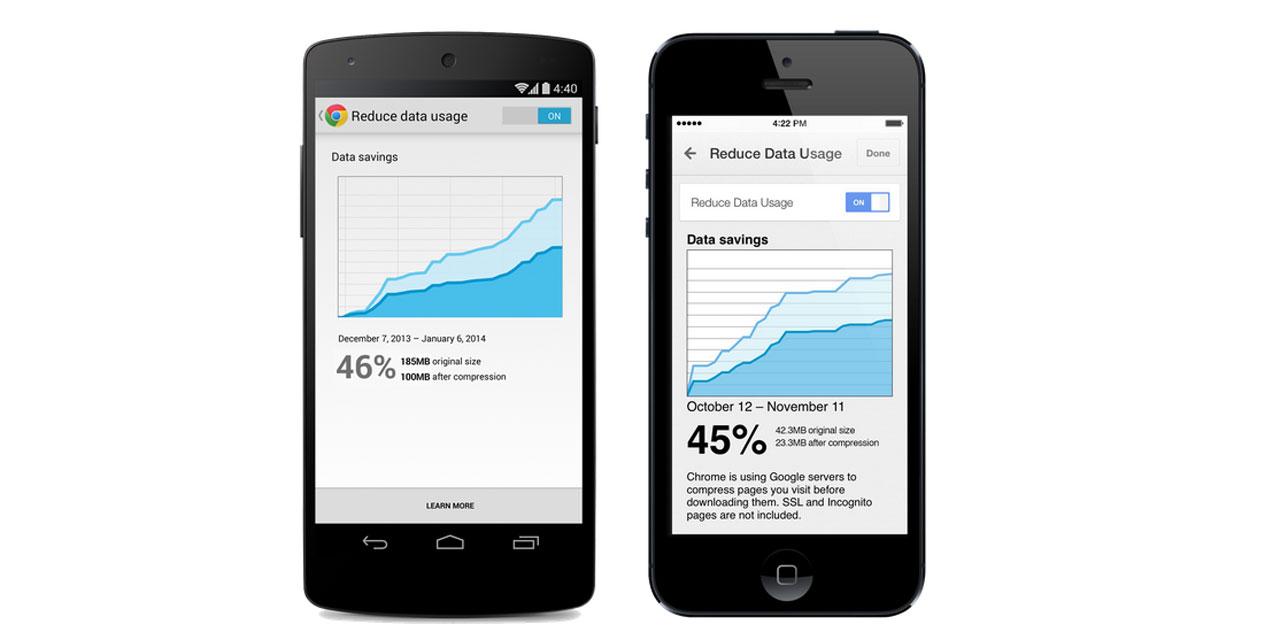 Google Chrome til mobilen kan nu reducere data med 50 procent - Mobil.nu