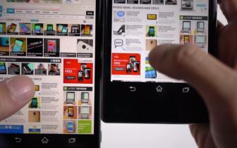 Video: Så meget bedre er skærmen på Sony Xperia Z2