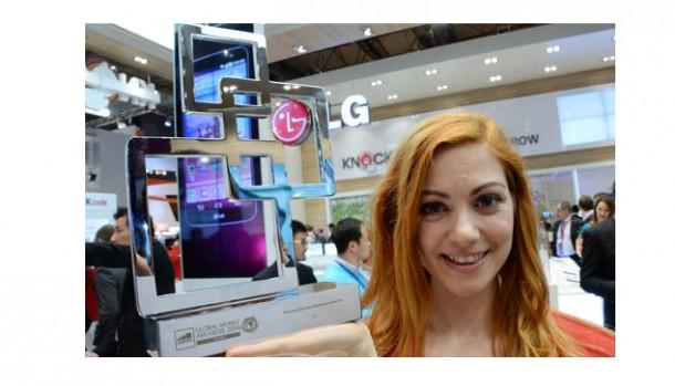 """LG kåret som """"Mest innovative virksomhed"""" på MWC 2014"""