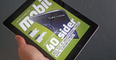 Hent Mobil til iPad og tablets – det er gratis og spækket med test!