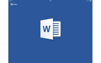 Microsoft Office nu klar til iPad
