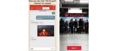 App test af Firechat: Chat uden mobil opkobling