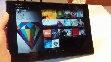 Sony Xperia Z2 Tablet – specifikationer og funktioner