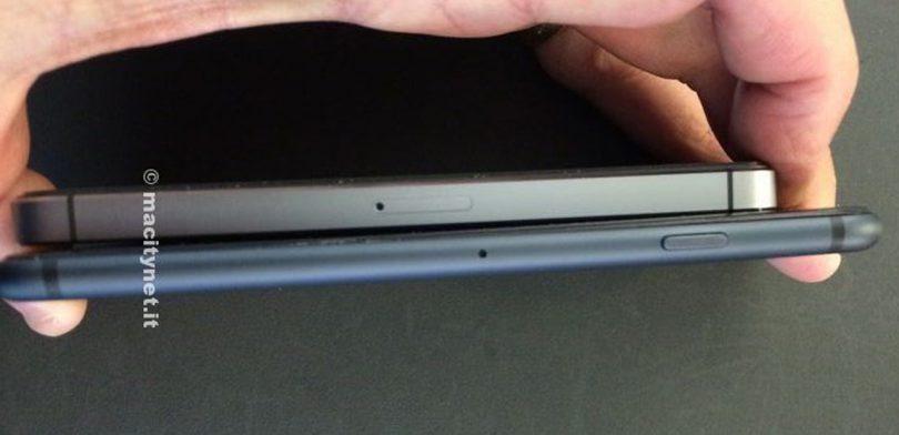 Billeder: iPhone 6 dummy sammenlignet med iPhone 5s