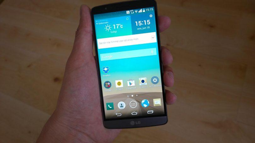 Første indtryk: LG G3