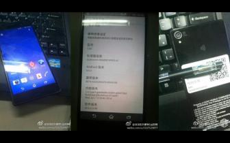Det her kan være Sony Xperia Z3