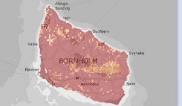 Teknologiskifte gav voldsom stigning i dataforbrug på Bornholm