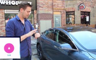Luksus elbilen Tesla får Android Wear understøttelse