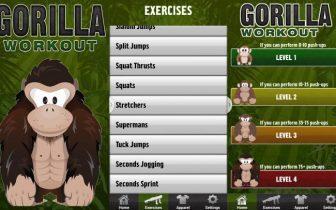 App test: Gorilla Workout er god til træning
