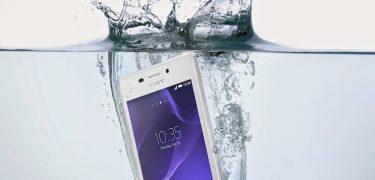 Sony Xperia M2 Aqua – den mest vandtætte smartphone