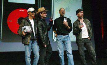 U2 spiller til lanceringen af iPhone 6