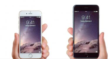 Første billeder af de nye iPhones
