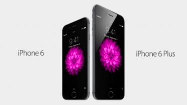iPhone 6 og iPhone 6 Plus – specs
