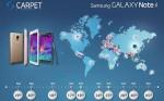 Samsung Galaxy Note 4 snart klar i Danmark
